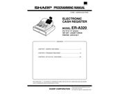 Sharp Cash Register Instruction Manual