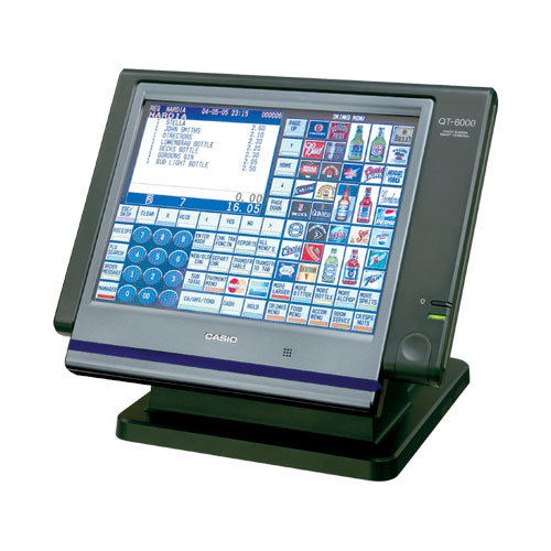 Casio Qt 6000 Point Of Sale Cash Register Cash Registers