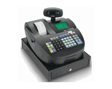 Royal Alpha 1000ML 200 Department 5000 Price Look-Up Heavy Duty Cash Register
