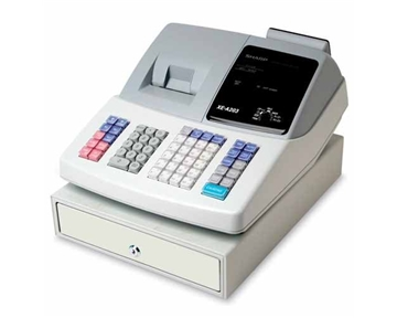 Sharp Electronics - Thermal Cash Register,99 Dept.,Battery Memory Backup,WE