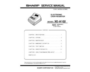 Sharp IB-XEA102 INSTRUCTION BOOK