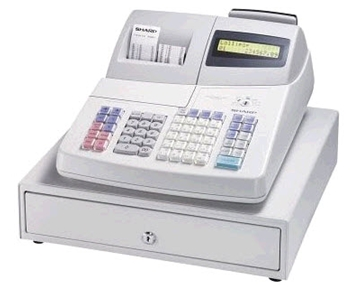Sharp XEA401 Cash Register